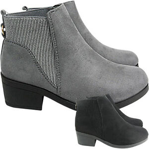 NEW-WOMENS-LADIES-LOW-MID-BLOCK-HEEL-CHELSEA-GUSSET-ANKLE-BOOTS-SHOE-SIZE-RIDING