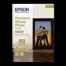 EPSON PREMIUM GLOSSY PHOTO PAPER 5x7 (13x18cm) 50 SHTS NEXT DAY DELIVERY S041875
