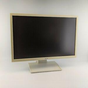 Acer-B223w-22-Zoll-Monitor-DVI-VGA-Audio-1680x1050-16-10-LCD-weiss-B-Ware