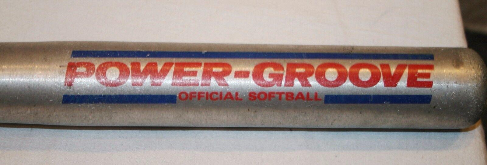 Wilson Power Groove Softball Racchetta A9622 A9622 Racchetta 83.8cm Metallo Alluminio e60b97