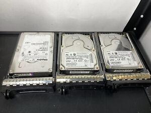 Lot-of-3-Maxtor-ATLAS-10K-III-320-73-GB-hard-disk-68pin-SCSI-w-Slides