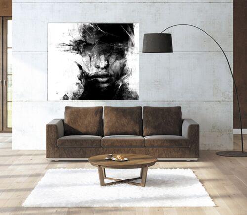 XXL BILD-ABSTRAKT-CANVAS-IKEA 120x100x5 LOFT-DESIGN LEINWAND GEMÄLDE PREMIÄR