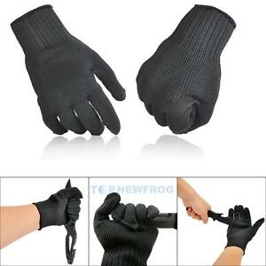 1Pair-Cut-Metal-Mesh-Butcher-Stainless-Steel-Wire-Safety-Anti-cutting-Work-Glove