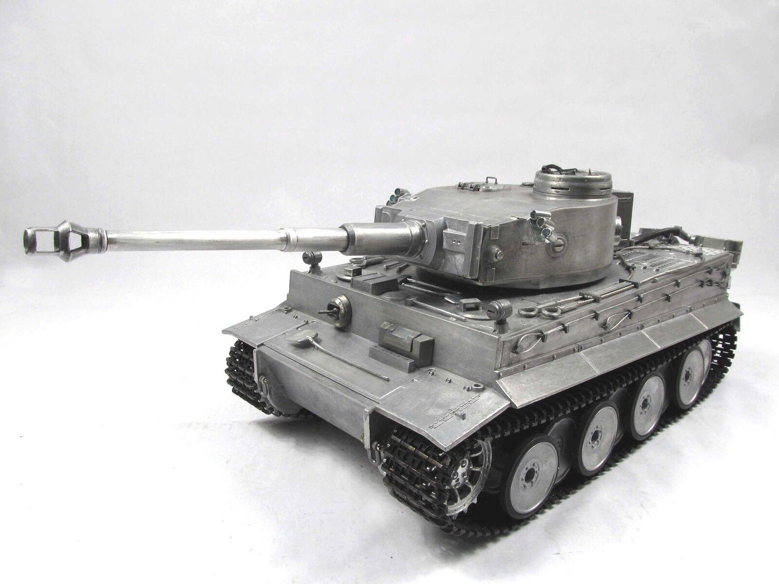 Mato  1 16 Scale tutti Metal Geruomo Tiger I RC RTR Tank modello Metal Coloree 1220  vendendo bene in tutto il mondo