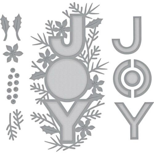 Spellbinders Die ~ JOY ~ S4-1012