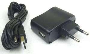 Steckernetztei<wbr/>l für LED Schwanenhalsla<wbr/>mpe Klemmlampe 1- & 2-armig USB & 230V