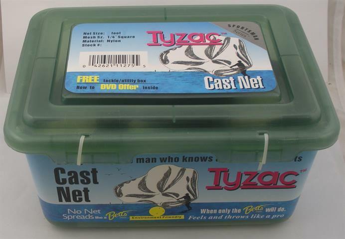 Betts 4N5I  Tyzac Series 5 Ft. Nylon Cast Net 14 Mesh 12903