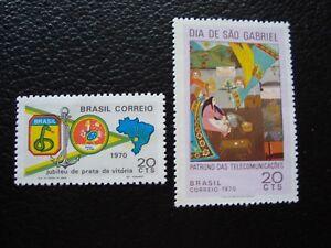 Brasil-Sello-Yvert-Y-Tellier-N-940-941N-Tu-Stamp-Brasil