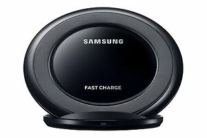 GENUINE OEM Samsung EP NG930 Fast Charge Qi Wireless Charging Stand Pad Black