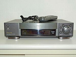 Panasonic NV-HS950 High-End S-VHS Videorecorder inkl. FB, 2 Jahre Garantie