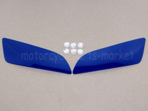Blue Headlight Lense Cover Shield For Honda CBR600RR 03-06 CBR 1000RR 2004-2007