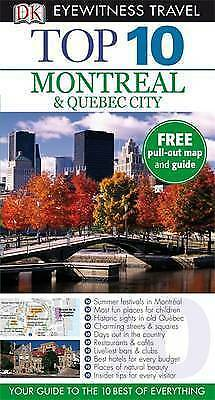 DK Eyewitness Top 10 Travel Guide: Montreal & Quebec City-ExLibrary