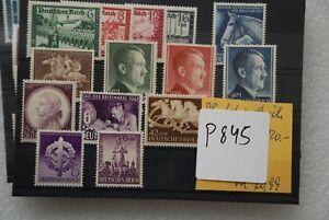 DR Deutsches Reich Briefmarke Lot ** postfrisch Lfd Nr P845