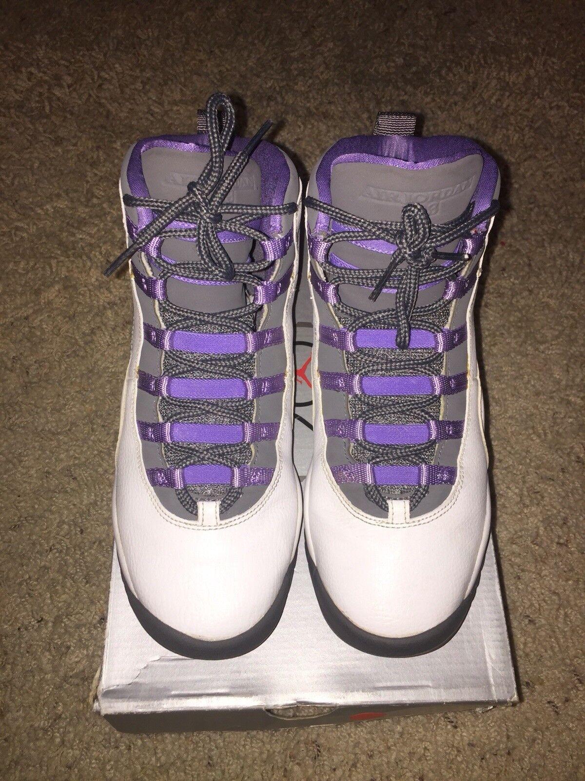 Air Jordan Jordan Air Violet 10s tamaño 7 4e51f4