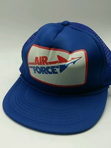 Image is loading Vintage-Air-Force-Hat-USA-Military-Snapback-Trucker- 58d2be69914