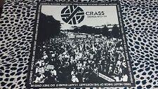 CRASS DEMOS 1977-79 LP POSTER SLEEVE PUNK KBD RUDIMENTARY PENI AMEBIX PART 1