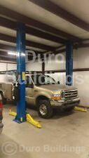 Durobeam Steel 50x40x12 Metal I Beam Building Workshop Auto Lift Garage Direct