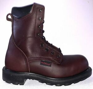 1b156727b70 Details about Red Wing 2408 Mens STEEL TOE Brown MADE IN THE USA 8-Inch  Boots