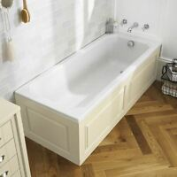 Bath Front Panel Ivory Traditional 1700 X 480 Mm