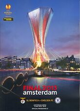 2013 UEFA EUROPA LEAGUE FINAL CHELSEA v BENFICA MINT PROGRAMME