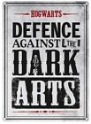 Harry Potter Hogwarts Defence Against The Dark Arts Small Tin Sign