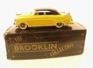 Brooklin Brk30 1954 Dodge Royal 500 Convertible 1/43 Neuf En Boîte / Boxed Mint