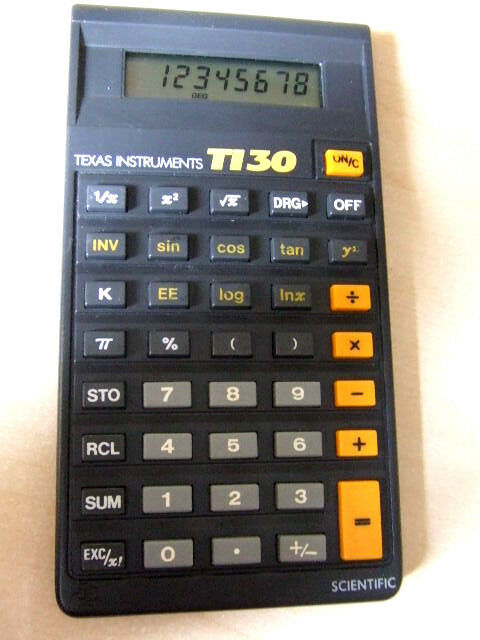 Vintage Texas Instruments Scientific Ti30 Stat Ti 30 Calculator Batteries For Online Ebay