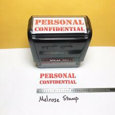 New Listingpersonal Confidential Rubber Stamp Red Ink Self Inking Ideal 4913