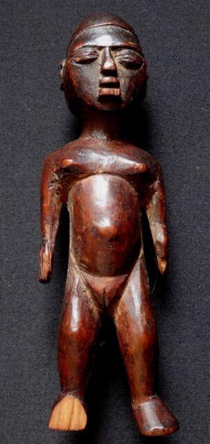 Ancienne statue africaine Congo maternité african art tribal woman sculpture