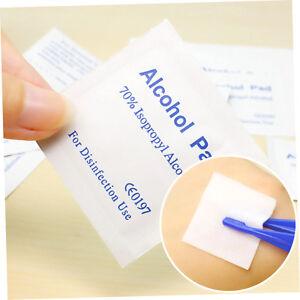 Alcohol-Wipe-Pad-Medical-Swab-Sachet-Antibacterial-Tool-Cleanser-100PCS-AU