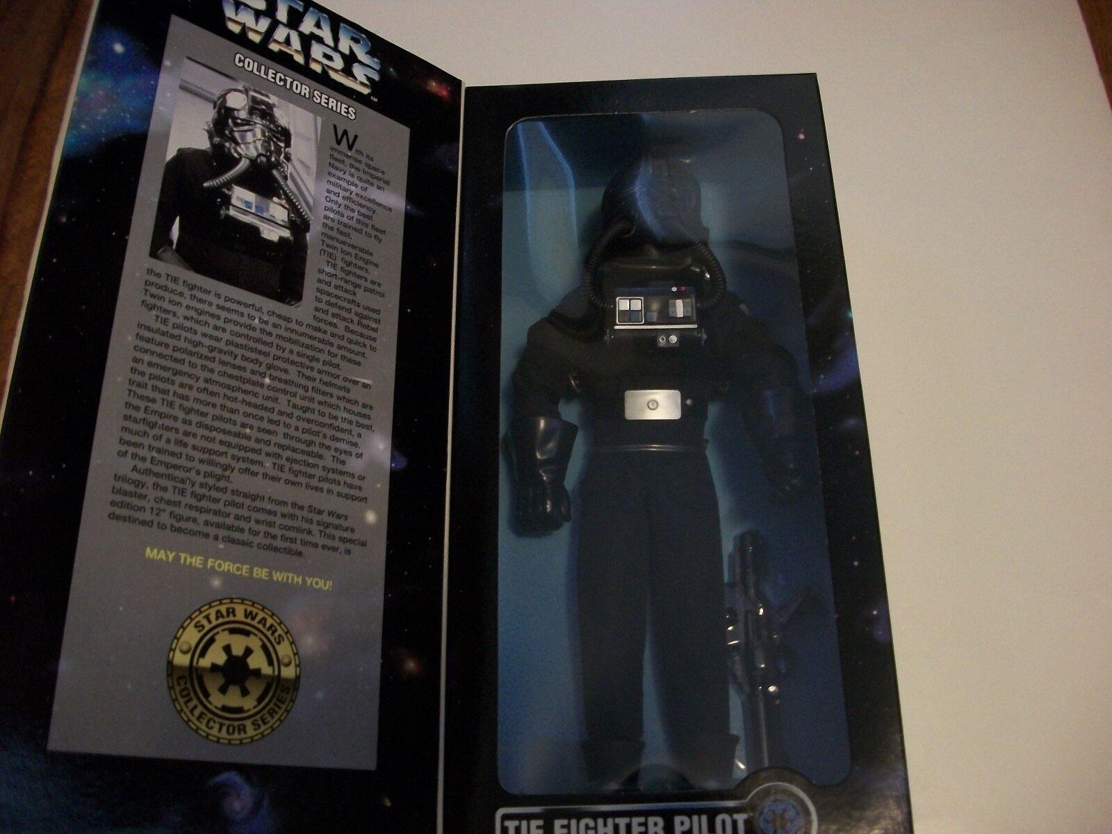Star Wars TIE Fighter Pilot 12 in (environ 30.48 cm) Figure Kenner 1996 jamais retiré de la boîte