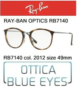 c51b98db3de Occhiali da vista RAY BAN RX OPTICS RB 7140 2012 49mm RAYBAN ...