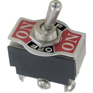 Kippschalter-2x-EIN-AUS-Ein-125-250V-AC-15-10Aicl-deutschlandweitem-Versand
