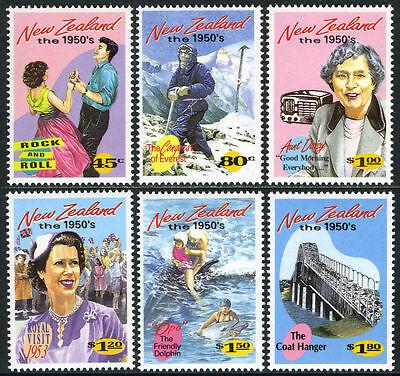 Postfrisch The Emerging Jahre The 594ms 1994 Neuseeland 1199-1204 Mi 1334-1339