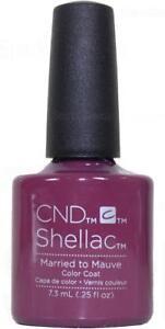 CND Shellac LED/UV - MARRIED TO THE MAUVE 7.3ml - EDIZIONE LIMITADA