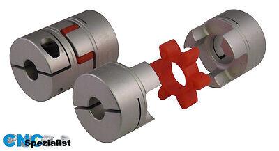 Wellenkupplung Flexkupplung 25x30  6mm Bohrung ETBX25x30-6mm 1//2 Kupplung