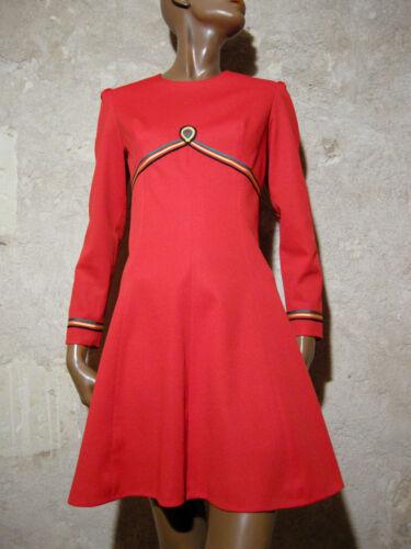 Ann 1970 True Dress Robe Vintage Chic Vtg xvwTAFHYcq