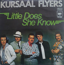 """7"""" 1976 IN VG+++! KURSAAL FLYERS : Little Does She Know"""