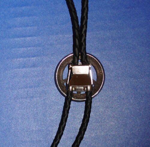 PICK YER CONCHO Western Concho Bolo Leatherette Cord