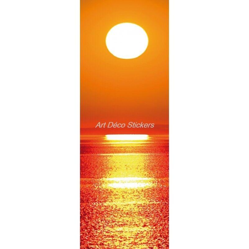 Cartel Póster Formato Puerta Trompa Trampantojo Acostado Del Sol 168 Arte