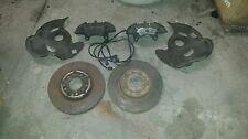 "Mercedes 190E 300E 4 piston front Big brake ""kit"" 1983-1993 W201 W124"