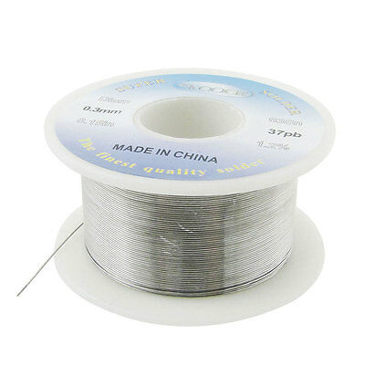 Rosin Core Solder Wire 63//37 Tin//Lead Flux Solder Welding Iron Line Reel 0.3 mm