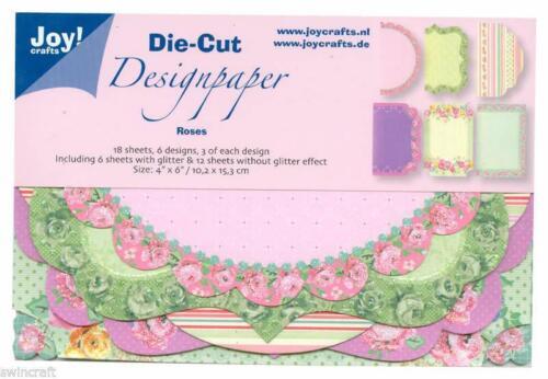 "JOY CRAFTS DIE-CUT DESIGNPAPER  4/""x6/"""