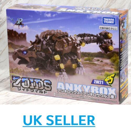 Takara Tomy Zoids ZW21 ankyrox-ACTION FIGURE MODEL KIT motorizzato ankyrocks UK