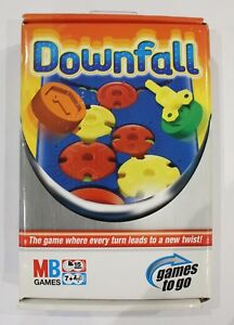 TRAVEL-DOWNFALL-GAME-MB-Games-2006-FACTORY-SEALED-CONTENTS