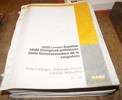 CASE 580M Loader Backhoe 580M Parts Catalog Manual Book EBay