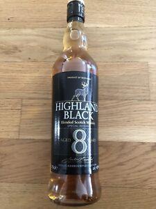 Highland Black 8 Years 40% Vol. - Nordrhein Westfalen , Deutschland - Highland Black 8 Years 40% Vol. - Nordrhein Westfalen , Deutschland