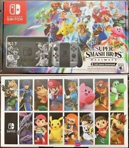 Nintendo Switch Super Smash Bros Ultimate Bundle With Game