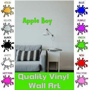 Personalised-Text-Any-Name-Word-Vinyl-Decal-Wall-Sticker-Font-Custom-Own-5