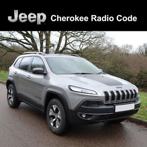 Jeep Radio code Manual